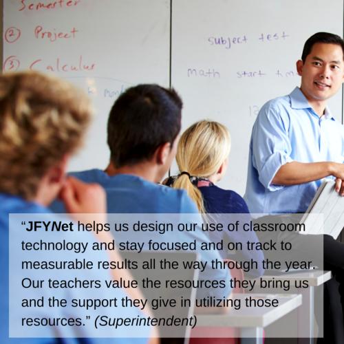 JFYNet proudly presents its Partner Schools