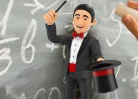 Treat? Or Schtick? Can tricks teach math?