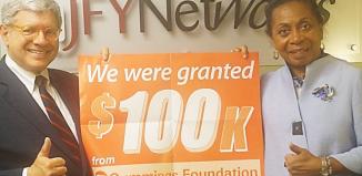 JFYNetWorks awarded $100,000 Cummings Foundation grant