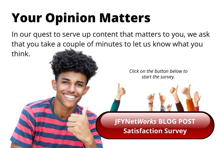 JFYNet Blog Satisfaction Survey