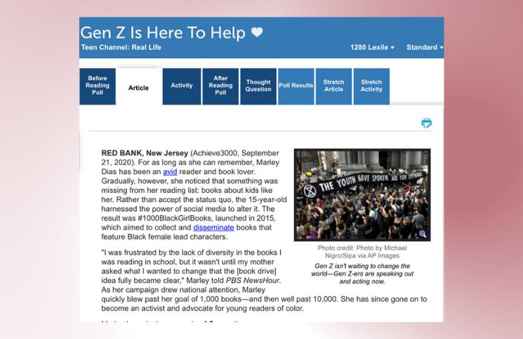 GEN Z is here to help