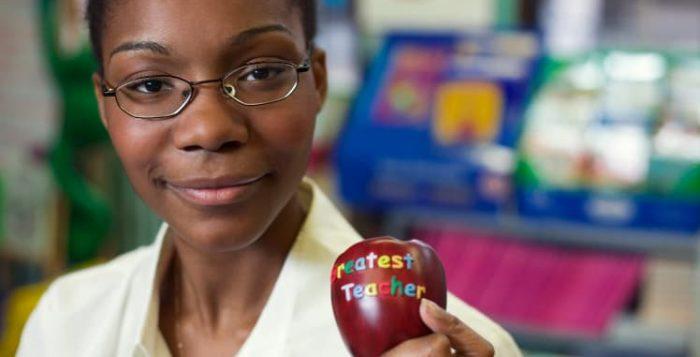 An Apple for the Teacher... a Good Teacher is Priceless