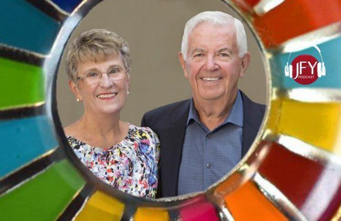 Joyce and Bill Cummings of the Cummings Foundation